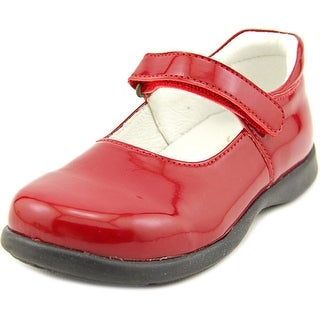 Primigi Andes Youth Round Toe Patent Leather Red Mary Janes
