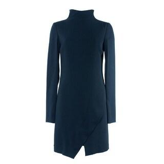 Valentino Women's Solid Black Mid Length Dress