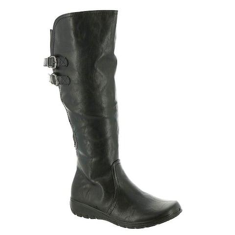 Easy Street Women's Tess Plus Mid Calf Boot