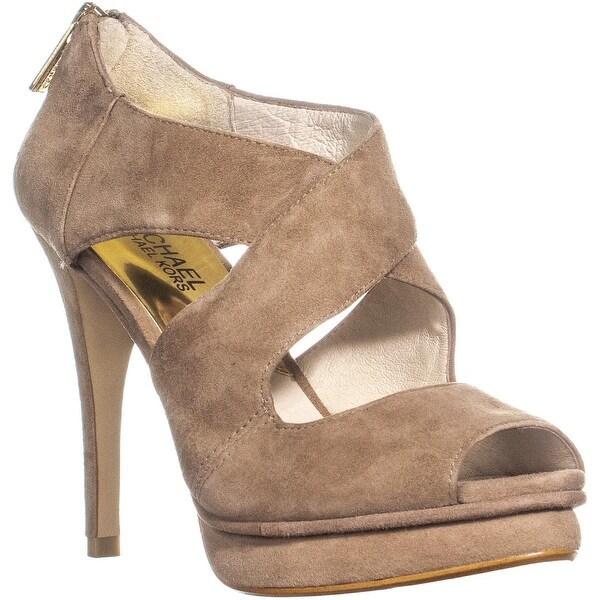 9568cc24e74 Shop Michael Kors Elena Cross Strap Dress Sandals