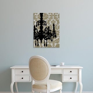 Easy Art Prints Ethan Harper's 'Small Chandelier Silhouette II' Premium Canvas Art
