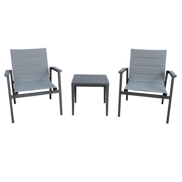 Modern Muse Aluminum Modern Sofa Furniture 3 pcs Set. Opens flyout.
