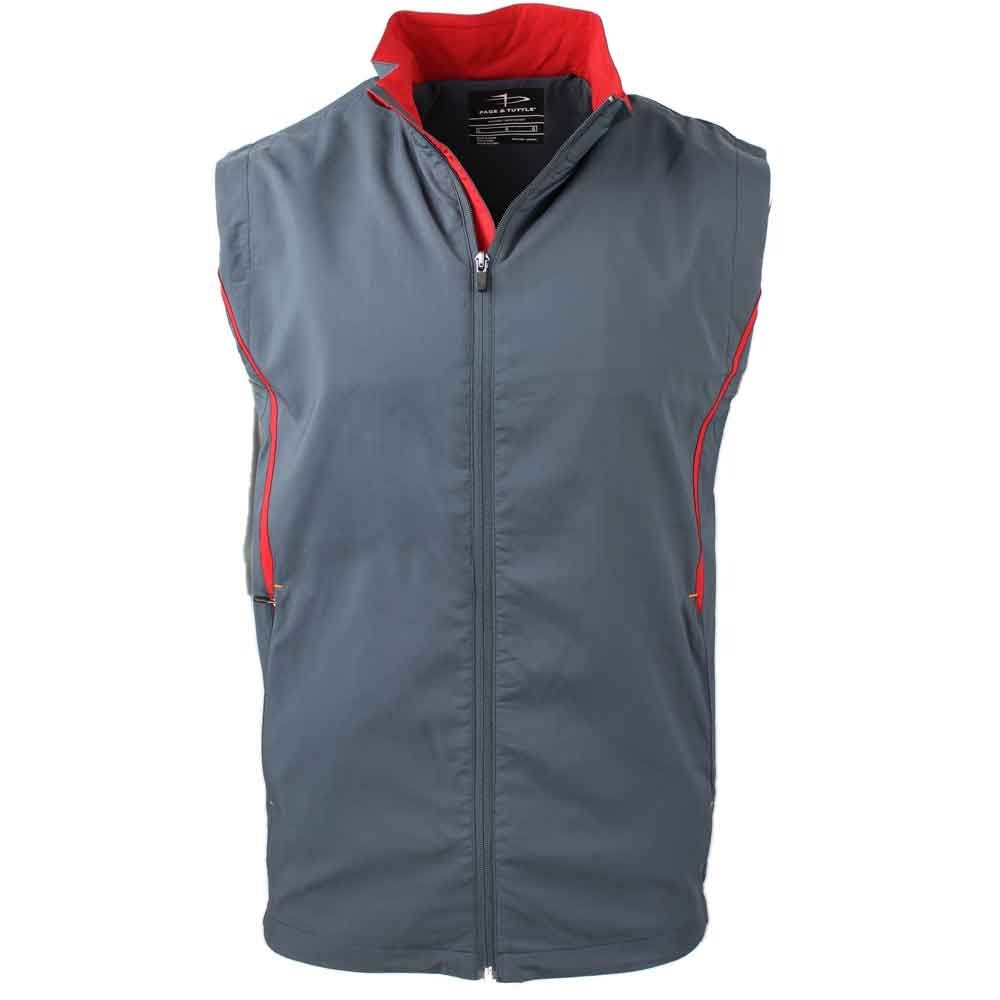 Golf mens outerwear vest 10 loss and 10% profit on investment