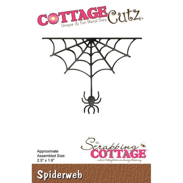 """CottageCutz Die-Spiderweb, 2.5""""X1.9"""""""