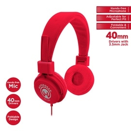 HyperGear V20 3.5mm Stereo Headphones w/Mic