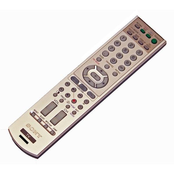 OEM Sony Remote Control Originally Supplied With: KDP57WS655, KDP-57WS655