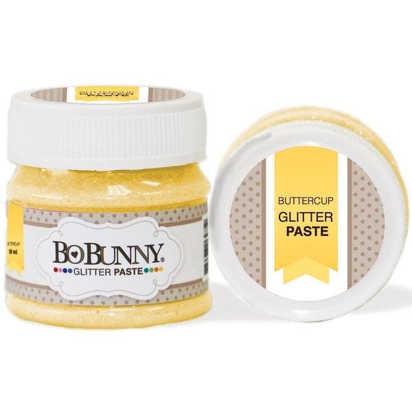 BoBunny Double Dot Glitter Paste 50ml-Buttercup
