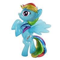"""My Little Pony Hikari 8"""" Vinyl Figure: Glittered Rainbow Dash - multi"""