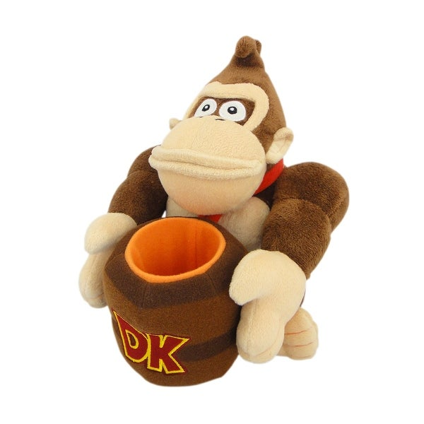 "Donkey Kong Barrel 8"" Stuffed Figure"