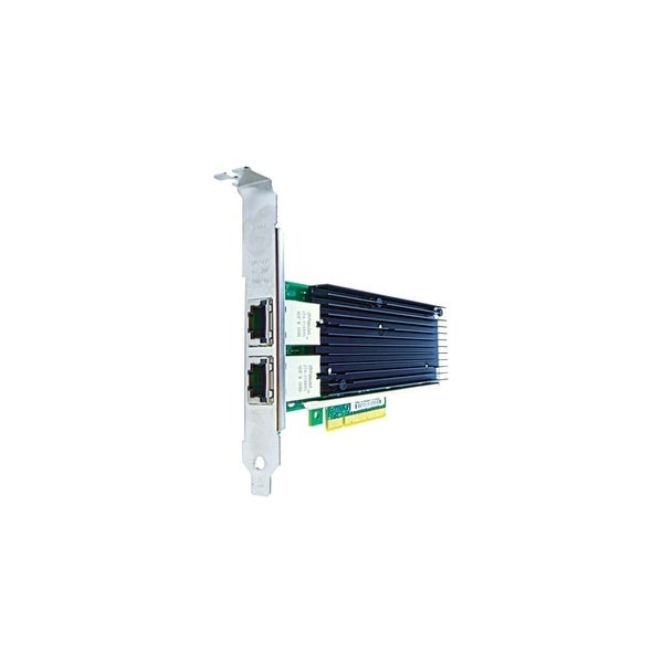 Axiom PCIe 10Gbs Dual Port Copper Network Adapter for Intel Empty Feature Sequence