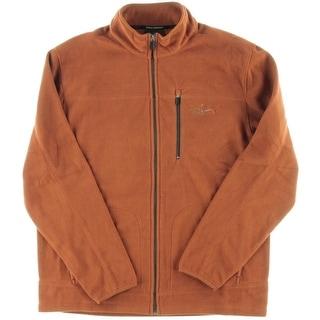 Greg Norman for Tasso Elba Mens Performance Five Iron Fleece Jacket