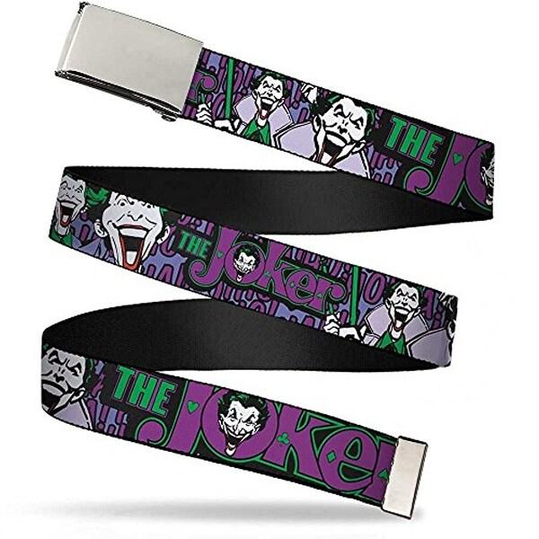 """Buckle-Down Web Belt Joker 1.25"""""""