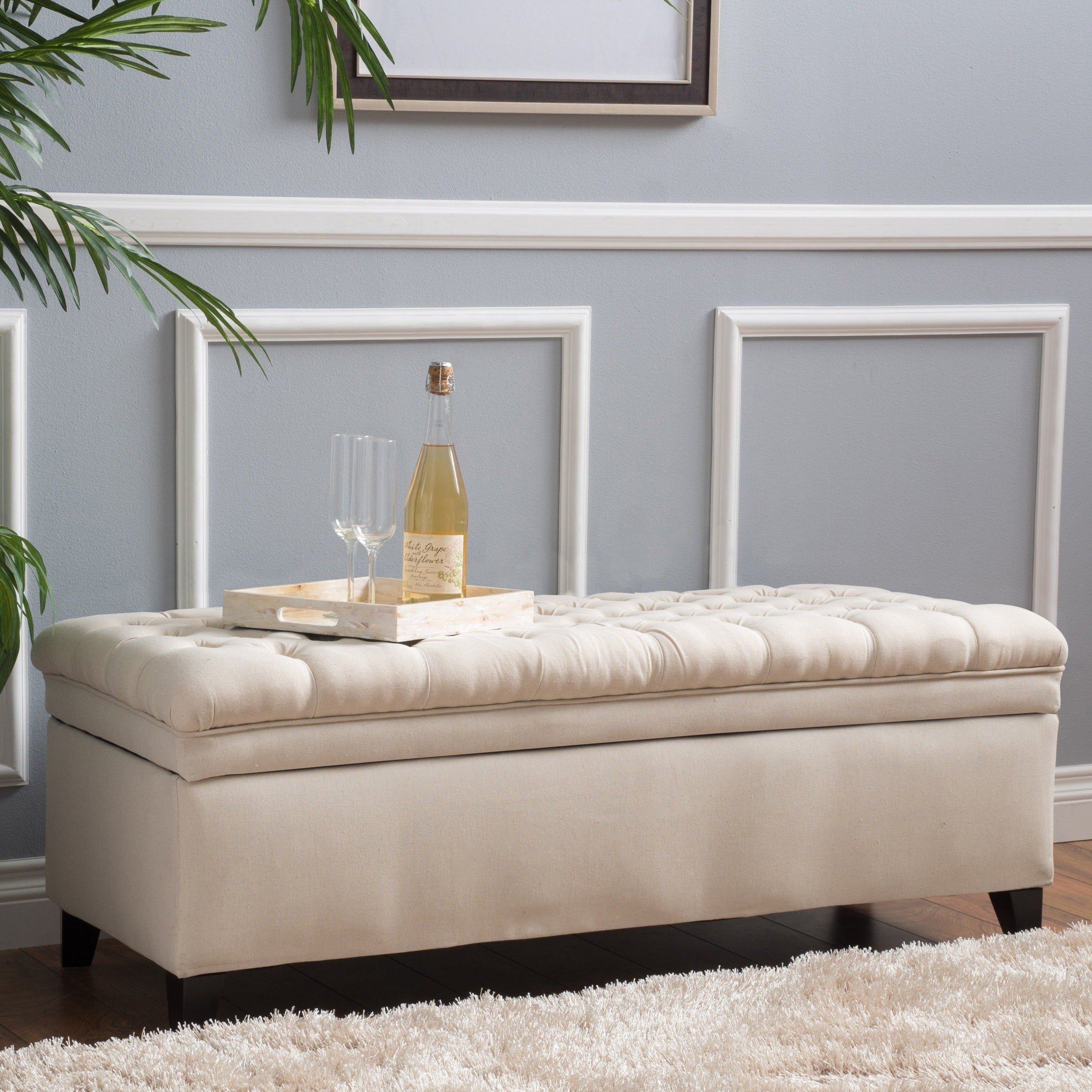 Hastings Tufted Fabric Storage