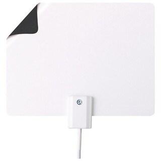 Winegard FL-2LNA Flatwave Micro Amplified Indoor Antenna, White