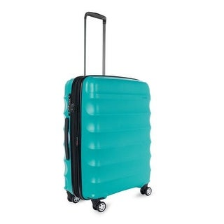 Antler Juno DLX Hardside Expandable Luggage Carry-On, Teal