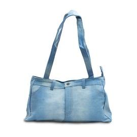 Genuine Denim Shoulder Bag Purse