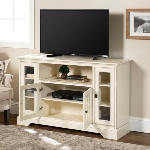 Middlebrook Designs 52-inch Highboy TV Stand Console. Opens flyout.