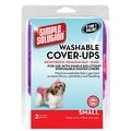 "Simple Solution Washable Diaper Cover-Ups, Small, ""Colors May Vary"", Pink/Purple or Blue/Black, 2 Pack - Thumbnail 0"