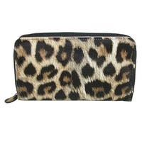 db design Women's Leopard Print Coupon Organizer Wallet - One size