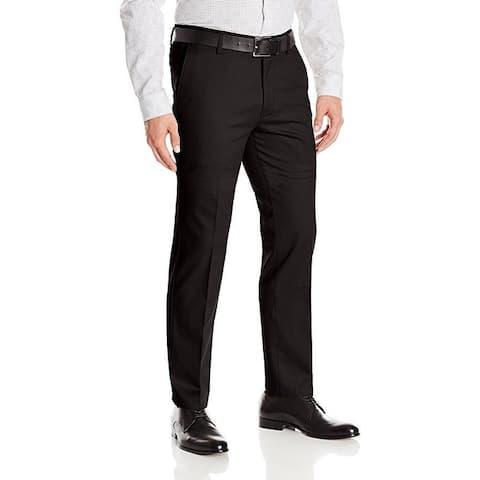Dockers Men's Slim Fit Stretch Signature Khaki Pant D1, Black (Stretch), 29x32