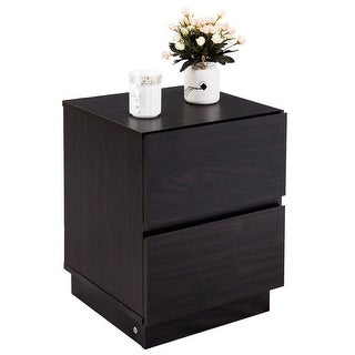 Black Nightstands & Bedside Tables For Less