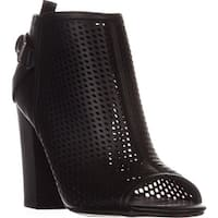 G by Guess Jerzy Peep Toe Ankle Booties, Black