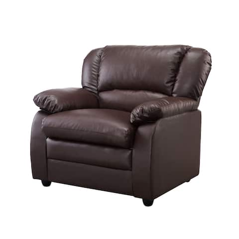 Faux Leather comfort chair