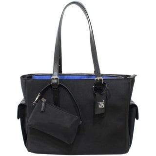 """WIB LIB14BK WIB Liberator Carrying Case (Tote) for 14.1"""" Notebook - Black - MicroFiber, Faux Leather Trim - Handle"""