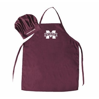NCAA Mississippi State Bulldogs Chef Hat And Apron