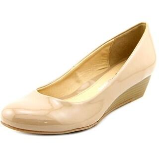 CL By Laundry Hava Women Open Toe Synthetic Wedge Heel