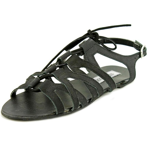 Steve Madden Fonza Open-Toe Leather Slingback Sandal