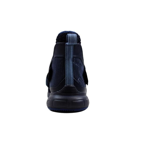 official photos 60e1b 25f32 Shop Nike Lebron Soldier XII 12 Blackened Blue/Work Blue ...