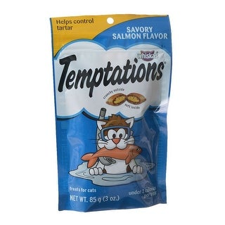 Whiskas Temptations - Savory Salmon Flavor 3 oz