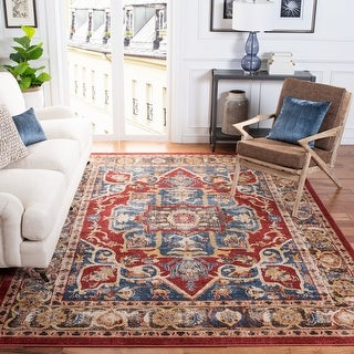 Link to Safavieh Bijar Elody Traditional Distressed Oriental Rug Similar Items in Transitional Rugs
