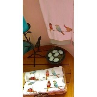 Bird On Wire 4-piece Towel Set