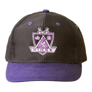 Los Angeles Kings NHL Youth Size Snapback Hat - Black/Purple