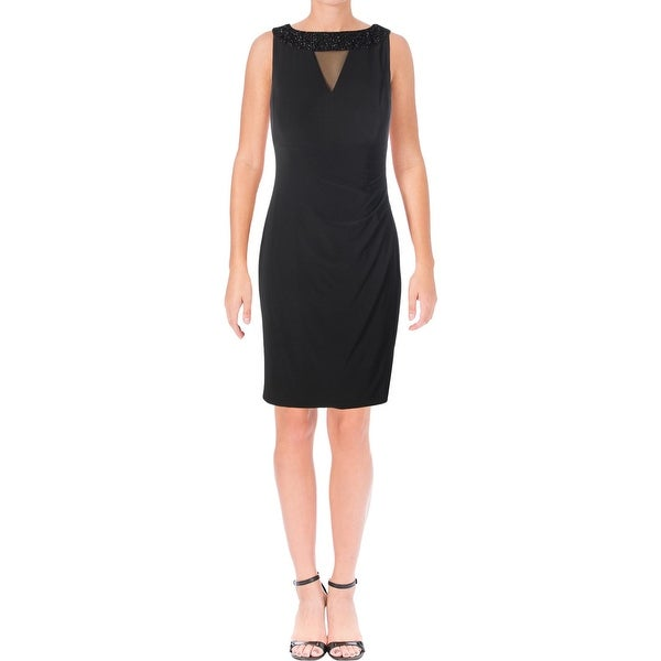 American Living Womens Cocktail Dress Beaded Day To Night