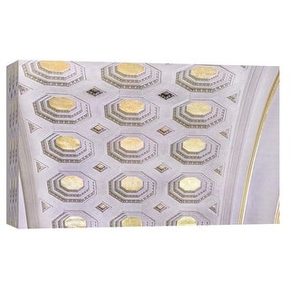 "PTM Images 9-103804  PTM Canvas Collection 8"" x 10"" - ""Union Station Ceiling Detail 4"" Giclee Buildings and Landmarks Art Print"