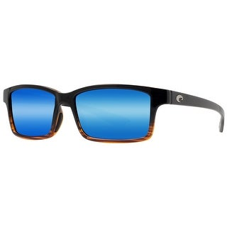 Costa del Mar Tern TE52 OBMP Coconut Fade Blue Mirror 580P Polarized Sunglasses - balck/coconut fade - 54mm-13mm-133mm