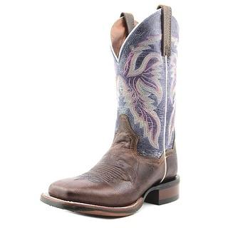 Dan Post Lad 11 Women Square Toe Leather Multi Color Western Boot