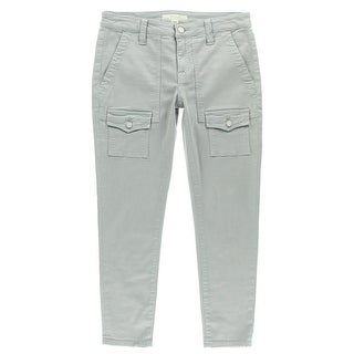 Joie Womens So Real Mid-Rise Cargo Capri Jeans - 25