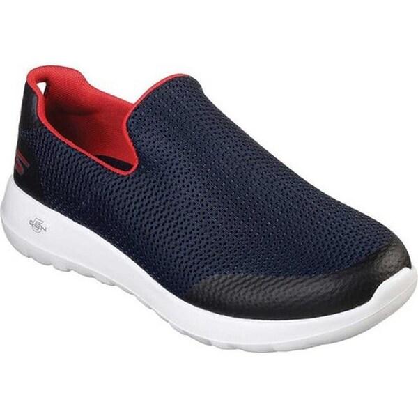 Focal Slip-On Walking Shoe Navy/Red