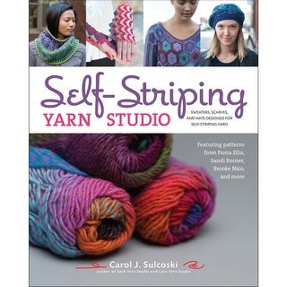 Lark Books-Self-Striping Yarn Studio