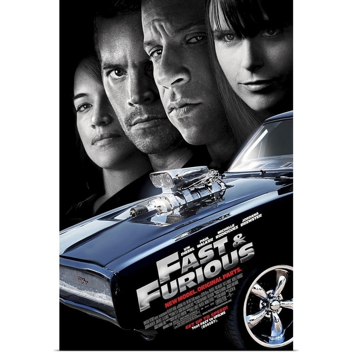 Shop Fast And Furious 4 2009 Poster Print Overstock 24133782