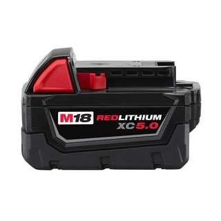 Replacement 5000mAh Battery for Milwaukee 48-11-1850 Models