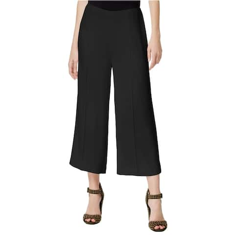 Rachel Roy Womens Cropped Dress Trousers, black, 6