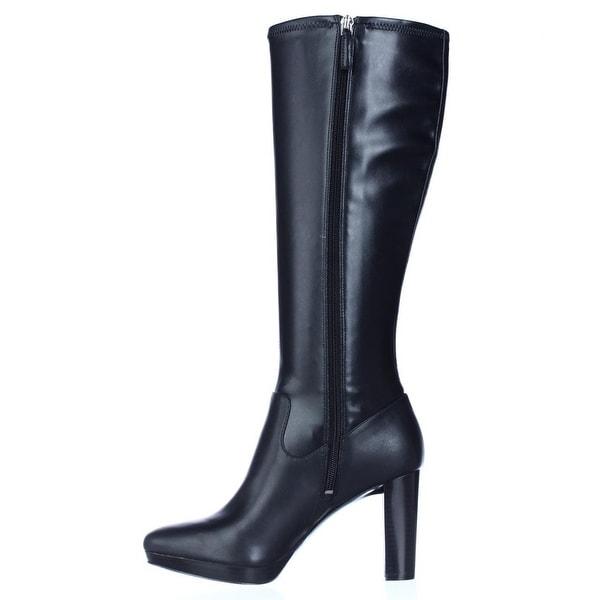 Nine West Womens Krayzie Closed Toe Knee High Fashion Boots