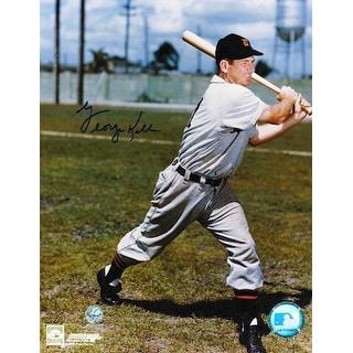 Autographed George Kell Detroit Tigers 8x10 Photo