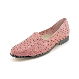 Trotters Liz WW Round Toe Leather Loafer