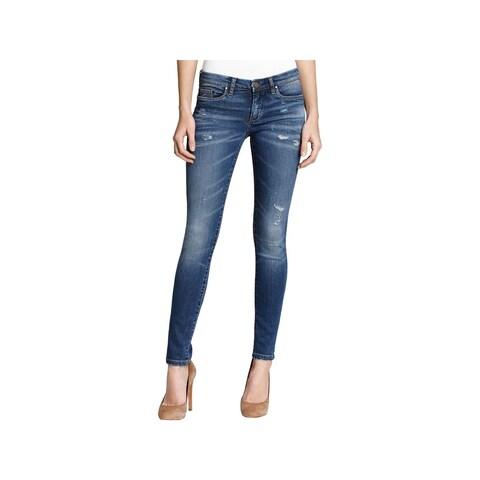 [BLANKNYC] Womens Juniors Skinny Jeans Distressed Classic